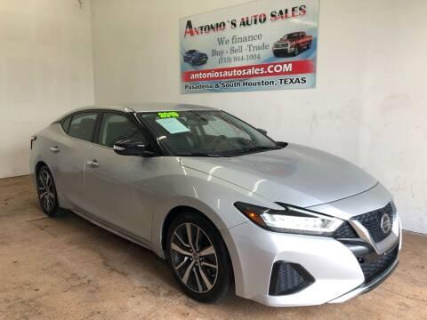 2019 Nissan Maxima for sale at Antonio's Auto Sales in South Houston TX