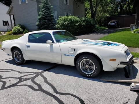 1974 Pontiac Trans Am for sale at Carroll Street Auto in Manchester NH