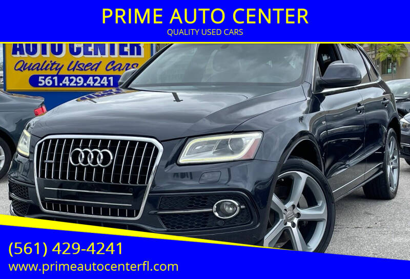 2014 Audi Q5 for sale at PRIME AUTO CENTER in Palm Springs FL