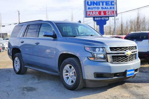 2016 Chevrolet Tahoe for sale at United Auto Sales in Anchorage AK