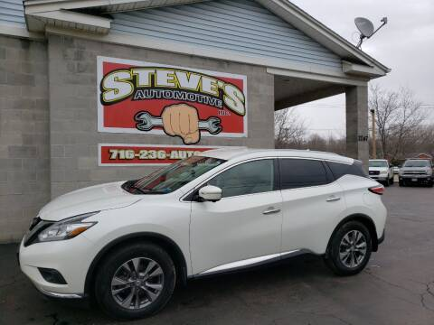 2015 Nissan Murano for sale at Steve's Automotive Inc. in Niagara Falls NY