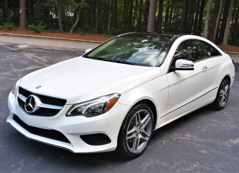 2014 Mercedes-Benz E-Class for sale at Weaver Motorsports Inc in Cary NC