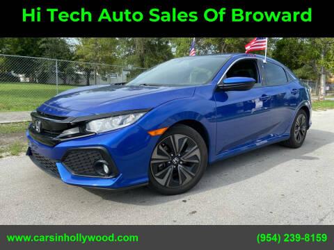 2017 Honda Civic for sale at Hi Tech Auto Sales Of Broward in Hollywood FL