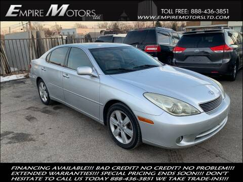 2006 Lexus ES 330 for sale at Empire Motors LTD in Cleveland OH