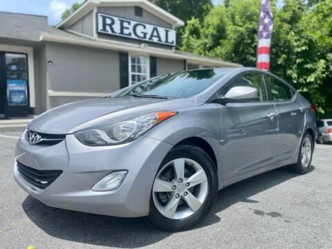 2013 Hyundai Elantra for sale at Regal Auto Sales in Marietta GA