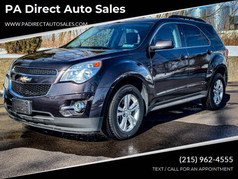 2014 Chevrolet Equinox for sale at PA Direct Auto Sales in Levittown PA