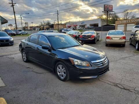 2011 Honda Accord for sale at Green Ride Inc in Nashville TN