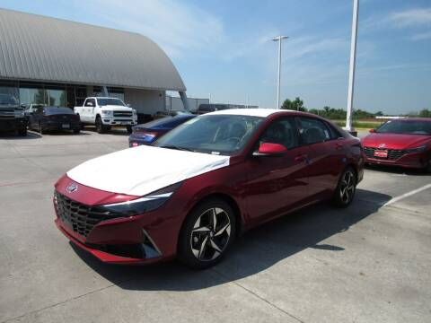 2021 Hyundai Elantra Hybrid for sale at Ron Carter  Clear Lake Used Cars in Houston TX