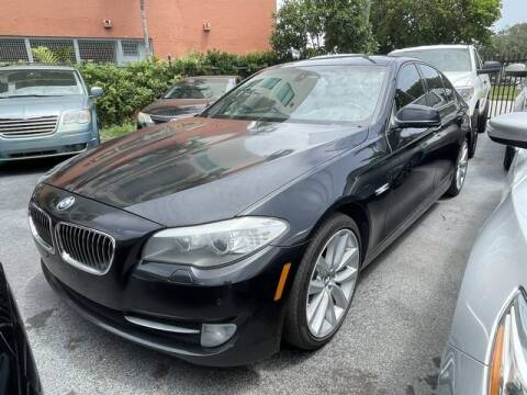 2011 BMW 5 Series for sale at Meru Motors in Hollywood FL