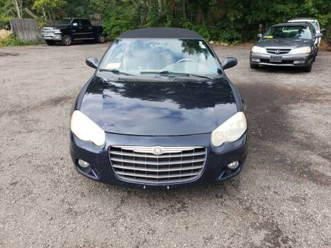 2004 Chrysler Sebring for sale at 1st Priority Autos in Middleborough MA