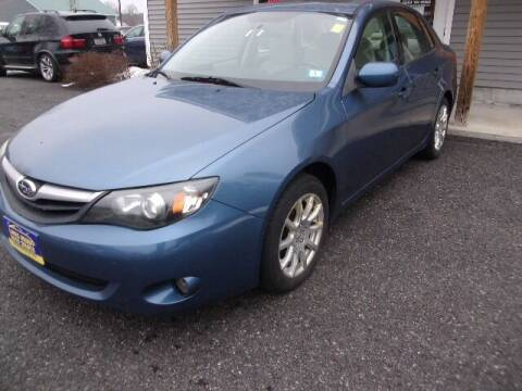 2010 Subaru Impreza for sale at Lakes Region Auto Source LLC in New Durham NH