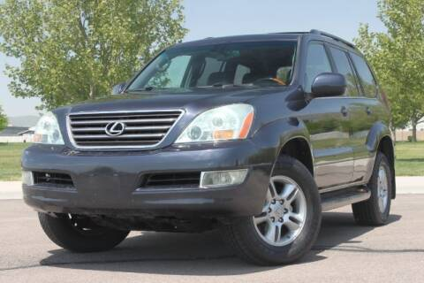 2003 Lexus GX 470 for sale at REVOLUTIONARY AUTO in Lindon UT