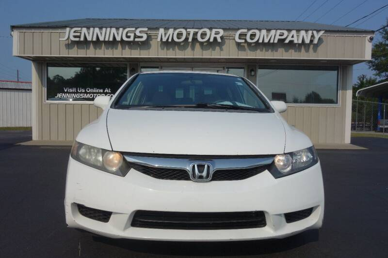 2010 Honda Civic for sale at Jennings Motor Company in West Columbia SC
