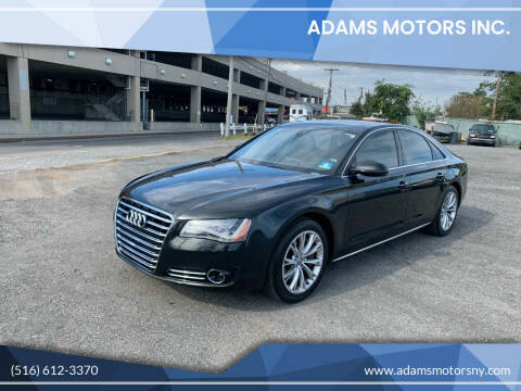 2011 Audi A8 for sale at Adams Motors INC. in Inwood NY