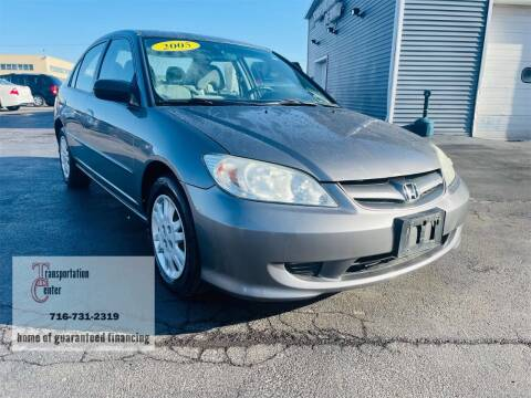 2005 Honda Civic for sale at Transportation Center Of Western New York in Niagara Falls NY