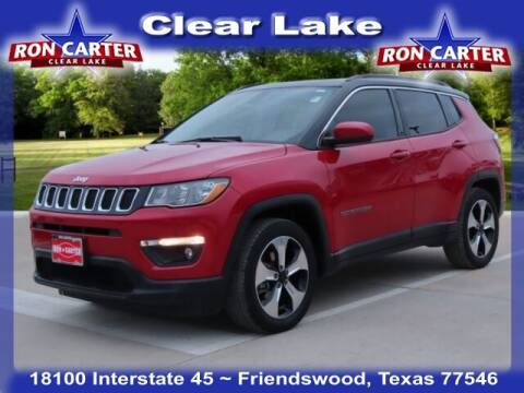 2018 Jeep Compass for sale at Ron Carter  Clear Lake Used Cars in Houston TX