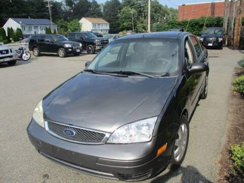 2007 Ford Focus for sale at Lynch's Auto - Cycle - Truck Center in Brockton MA