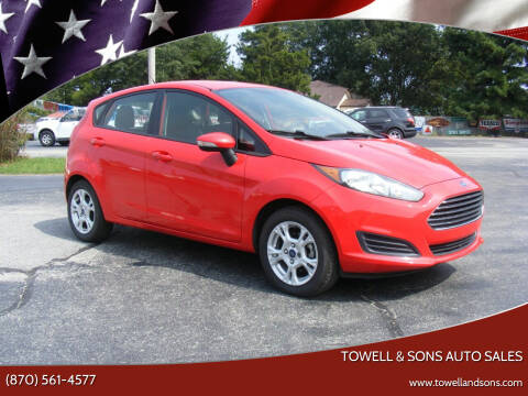 2014 Ford Fiesta for sale at Towell & Sons Auto Sales in Manila AR