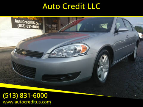2007 Chevrolet Impala for sale at Auto Credit LLC in Milford OH