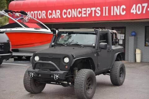 2008 Jeep Wrangler for sale at Motor Car Concepts II - Apopka Location in Apopka FL