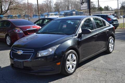 2013 Chevrolet Cruze for sale at Victory Auto Sales in Randleman NC