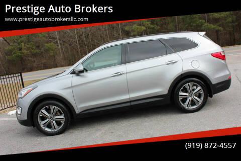 2014 Hyundai Santa Fe for sale at Prestige Auto Brokers in Raleigh NC