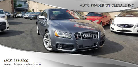 2012 Audi S5 for sale at Auto Trader Wholesale Inc in Saddle Brook NJ