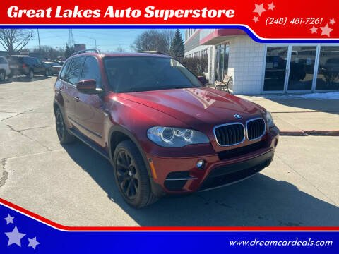 2012 BMW X5 for sale at Great Lakes Auto Superstore in Pontiac MI