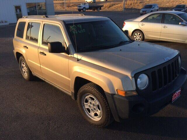 2009 Jeep Patriot for sale at G & B  Motors in Havre MT