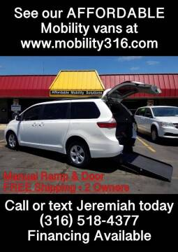 2015 Toyota Sienna for sale at Affordable Mobility Solutions, LLC - Mobility/Wheelchair Accessible Inventory-Wichita in Wichita KS