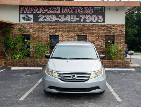 2011 Honda Odyssey for sale at Paparazzi Motors in North Fort Myers FL
