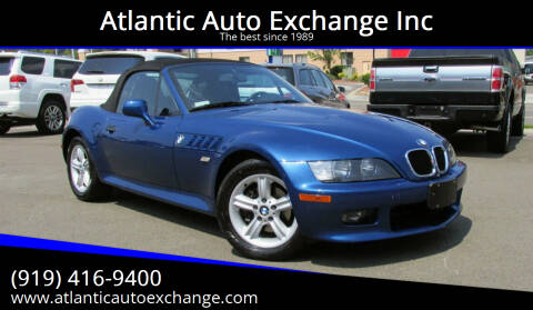 2002 BMW Z3 for sale at Atlantic Auto Exchange Inc in Durham NC