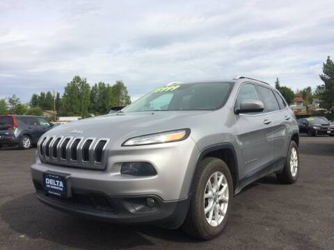 2016 Jeep Cherokee for sale at Delta Car Connection LLC in Anchorage AK