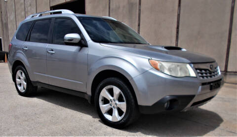 2011 Subaru Forester for sale at M G Motor Sports in Tulsa OK