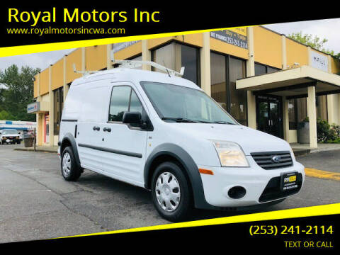 2011 Ford Transit Connect for sale at Royal Motors Inc in Kent WA