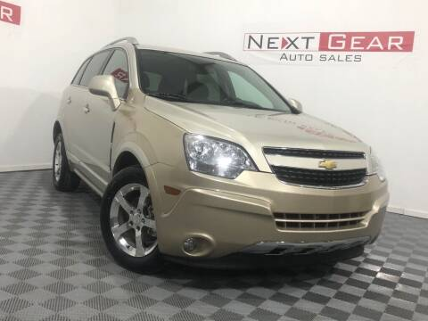 2014 Chevrolet Captiva Sport for sale at Next Gear Auto Sales in Westfield IN