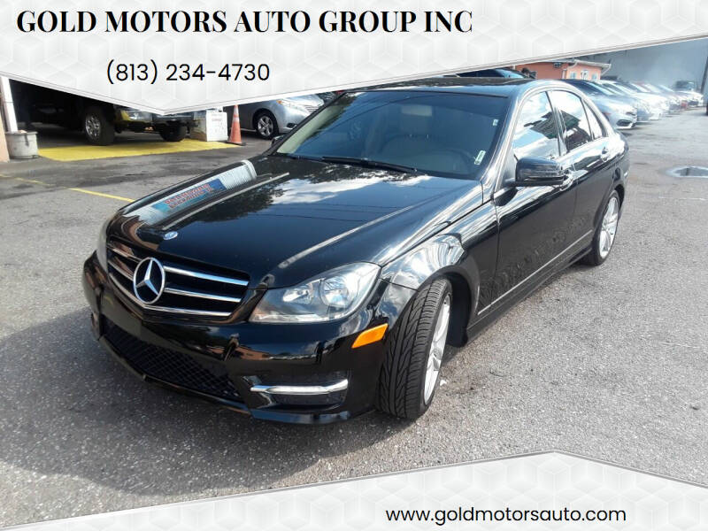 2014 Mercedes-Benz C-Class for sale at Gold Motors Auto Group Inc in Tampa FL