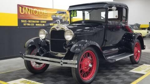 1928 Ford Model A for sale at UNIQUE SPECIALTY & CLASSICS in Mankato MN