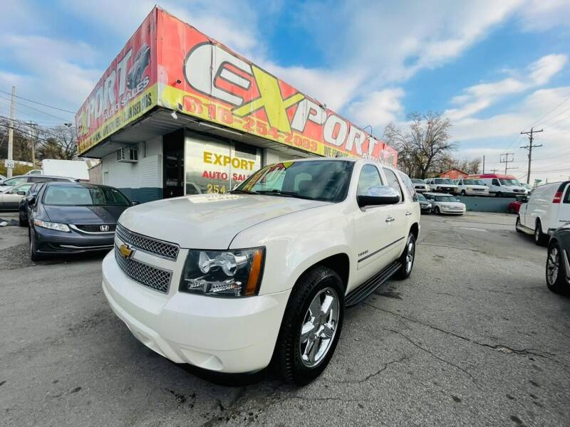 2013 Chevrolet Tahoe for sale at EXPORT AUTO SALES, INC. in Nashville TN