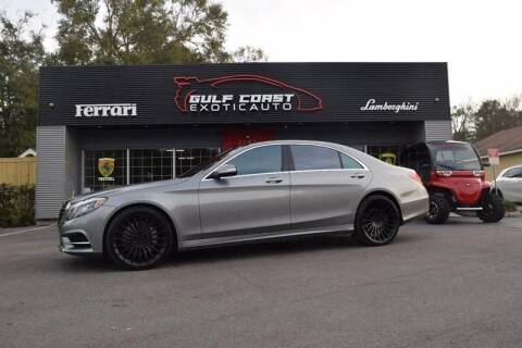 2015 Mercedes-Benz S-Class for sale at Gulf Coast Exotic Auto in Biloxi MS