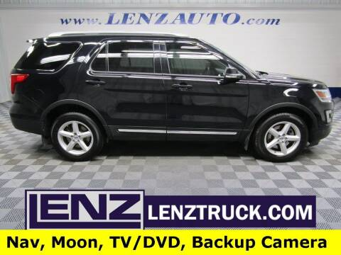 2017 Ford Explorer for sale at LENZ TRUCK CENTER in Fond Du Lac WI