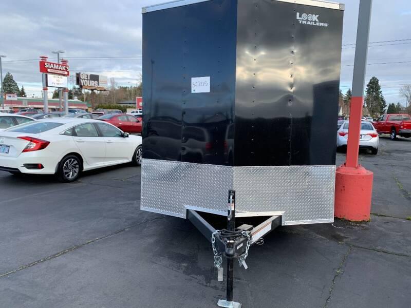 2022 LOOK CARGO TRAILER LSCBA7.0X14TE2FE for sale at Siamak's Car Company llc in Salem OR