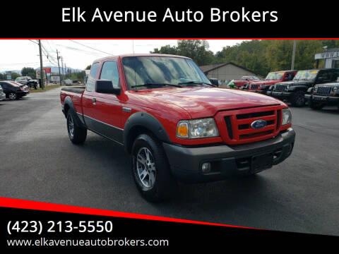 2006 Ford Ranger for sale at Elk Avenue Auto Brokers in Elizabethton TN
