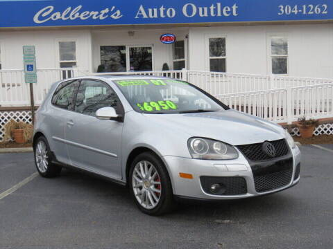 2007 Volkswagen GTI for sale at Colbert's Auto Outlet in Hickory NC