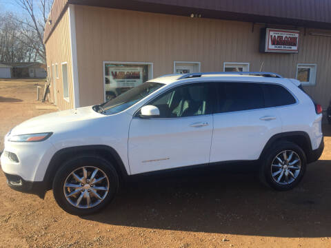 2018 Jeep Cherokee for sale at Palmer Welcome Auto in New Prague MN