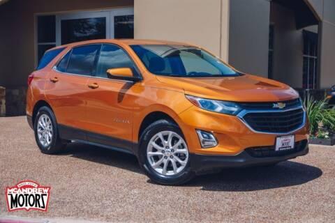 2018 Chevrolet Equinox for sale at Mcandrew Motors in Arlington TX