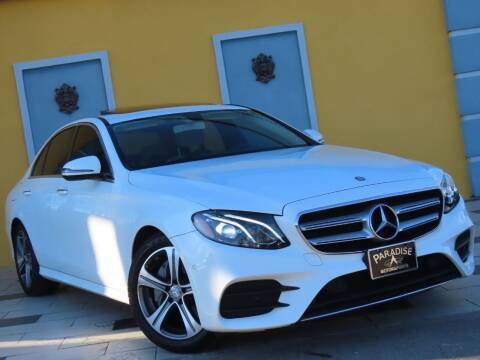 2017 Mercedes-Benz E-Class for sale at Paradise Motor Sports LLC in Lexington KY