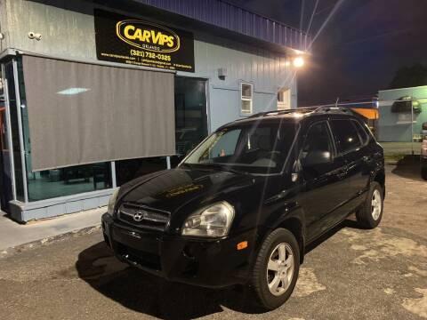 2005 Hyundai Tucson for sale at CAR VIPS ORLANDO LLC in Orlando FL