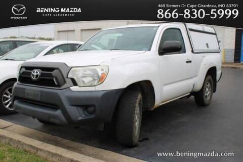 2013 Toyota Tacoma for sale at Bening Mazda in Cape Girardeau MO