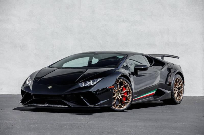 2018 Lamborghini Huracan for sale at Nuvo Trade in Newport Beach CA